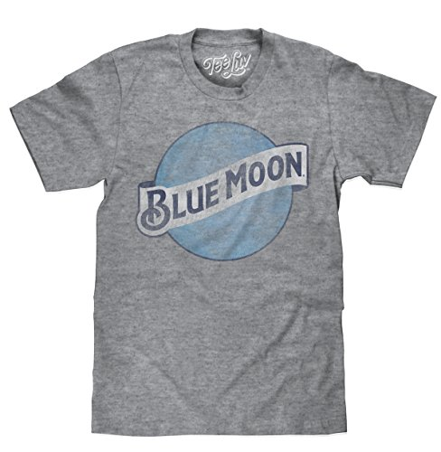 Tee Luv Blue Moon Color Logo | Big & Tall - 2XLT - Mens College Big Logo Tee