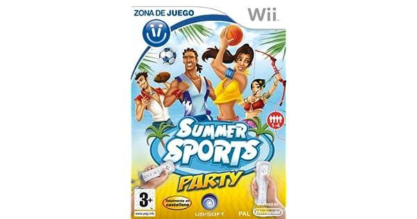 Zona de Juego: Summer Sports Party: Amazon.es: Videojuegos