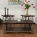 Bombay Furniture Company Best Deals - Bombay Reclaimed Knockdown 3 Piece Coffee Table Set