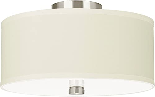 Sea Gull Lighting 77262-962 Dayna Shade Pendants Two-Light Flush / Semi-Flush Convertible