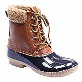 Avanti Women's Jango Lined Duck Style Rain Boots - Navy - Size 6