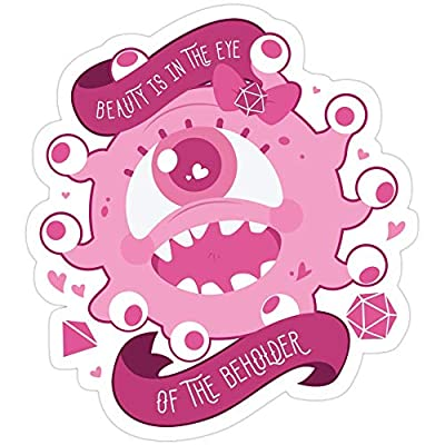 Big Lens store Kawaii Beholder Stickers (3 Pcs/Pack): Kitchen & Dining