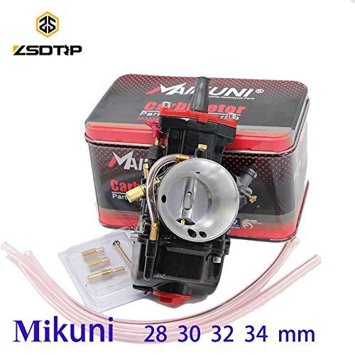 (| Carburetor | 21 24 26 28 30 32 34 mm Universal Mikuni Maikuni Carburetor Parts Scooters with Power Jet Motorcycle ATV | by HUDITOOLS | 1 PCs)