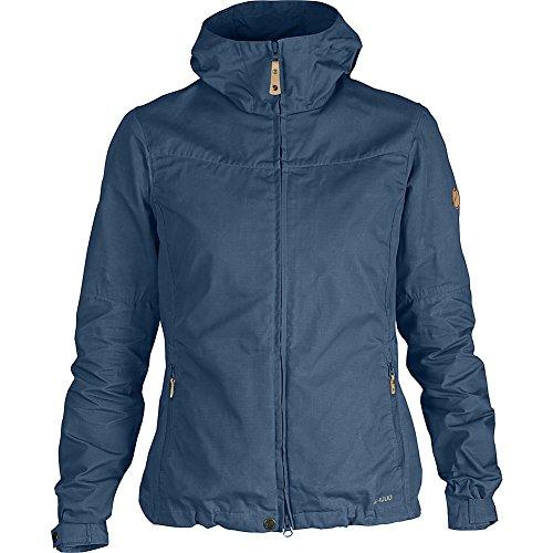 Fj?llr?ven Stina Jacket Veste Femme, Rouge Profond, Taille Unique Bleu Oncle