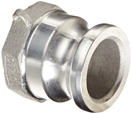Dixon 150-A-AL Aluminum 356T6 Boss-Lock Type A Cam and Groove Hose Fitting, 1-1/2