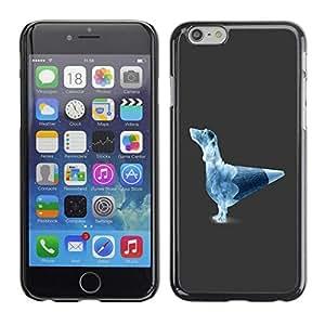 Be Good Phone Accessory // Dura Cáscara cubierta Protectora Caso Carcasa Funda de Protección para Apple Iphone 6 Plus 5.5 // Funny Pencil Dog