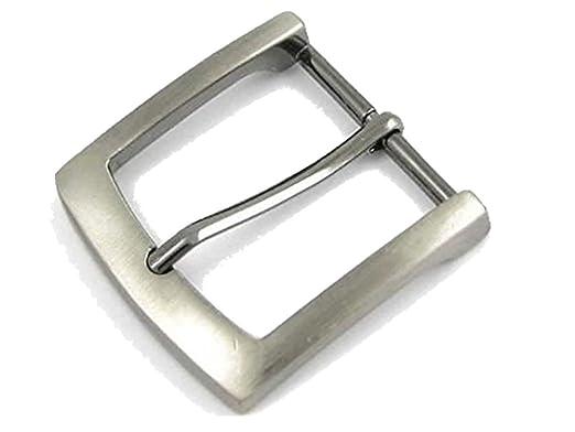 détaillant en ligne 9cb94 37a17 Bucklebox ZINC BOUCLE DE CEINTURE (SILVER ANTIQUE REGARD). Convient pour  ceintures jusqu'à 38-40mm de largeur avec fermeture à bouton poussoir.