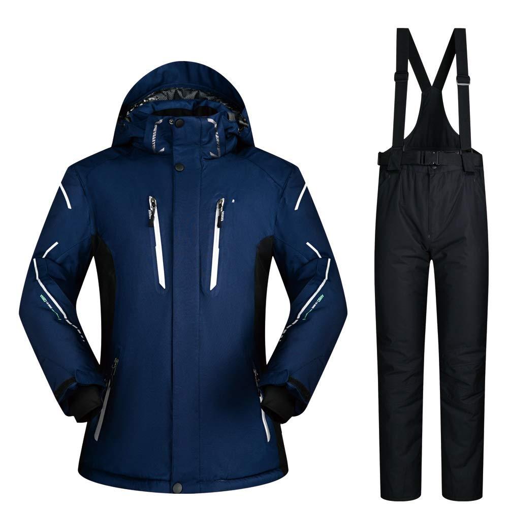 C10 XXXL Yiwuhu Veste pour Homme Tailleur Ski Costume Hiver Extérieure Imperméable Coupe-Vent épaississeHommest De L'humidité Grande Taille VêteHommests de Ski d'hiver idéal (Couleur   C9, Taille   XL)