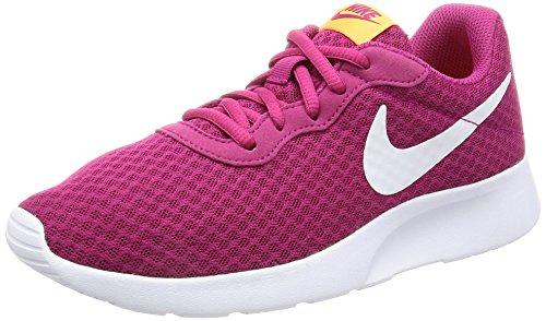 Donna Nike Tanjun Esecuzione Scarpe Sportive Fucsia Torta Bianca