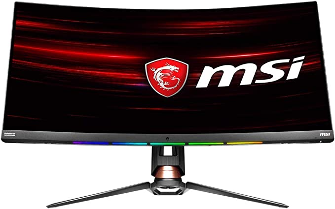 """Amazon.com: MSI Non-Glare Ultra Wide 21: 9 Aspect ratio 3440 X 1440 (Uwqhd) 144Hz Refresh Rate 1ms HDR 400 3K Resolution 34"""" Freesync Curved Gaming Monitor (OPTIX MPG341CQR),Black: Computers & AccessoriesLive viewers eye icon"""