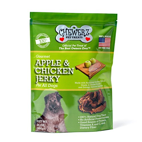 Chewerz APPLE CHICKEN JERKY TREATS product image