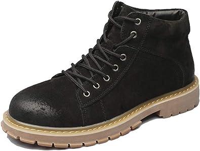 Men's Fashion Brown Work Boots, Steel