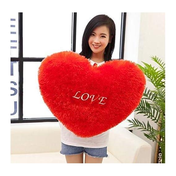 OSJS Toys Soft Plush Decorative Heart Shape Cushion Pillow 33 X 33 cm - Heart Shape