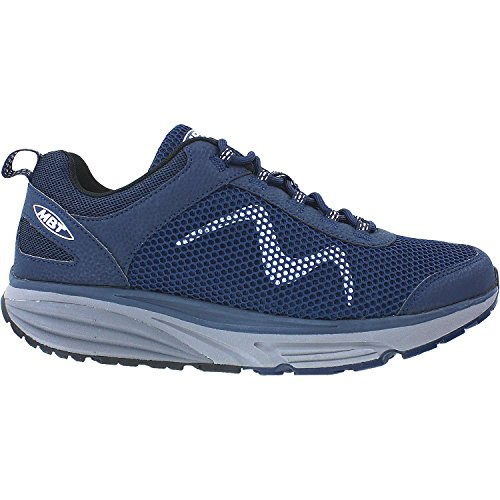 MBT Shoes Men's Colorado 17 Lace UP Athletic Shoe: Petrol/Blue 12 Medium (D) Lace Mbt Fitness Shoes