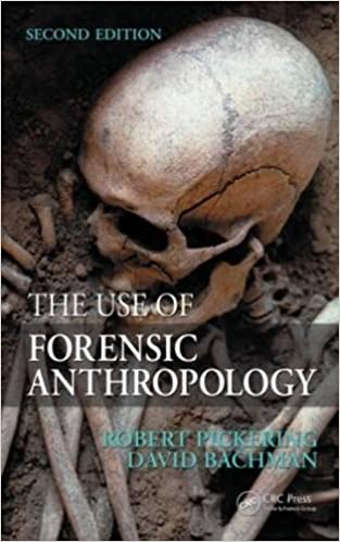 The Use Of Forensic Anthropology Pickering Robert B Bachman David 9781420068771 Amazon Com Books