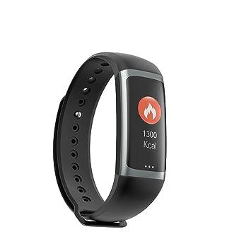 HECHEN Montre Connectée, Oxygène du Sang Cardiofréquencemètre Podomètre Tracker Dactivité IP68 Bracelet Intelligent