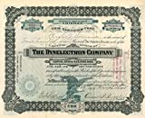 Dynelectron Company - Stock Certificate