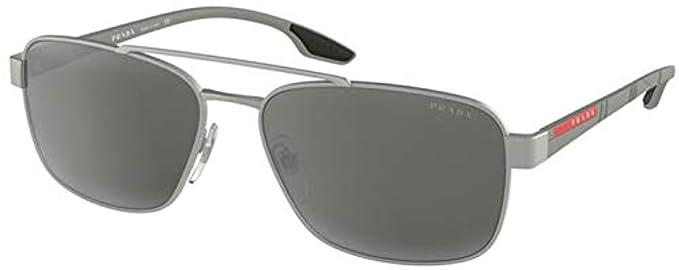 Prada Linea Rossa 0PS 51US, Gafas de sol para Hombre, Silver ...