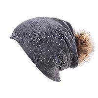 Geetobby Women Hats Fleece Headwear Ladies Winter Head Coverings Warm Ear Caps