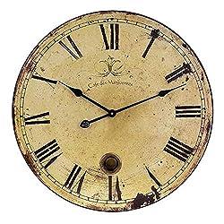 Imax Wall Clock with Pendulum