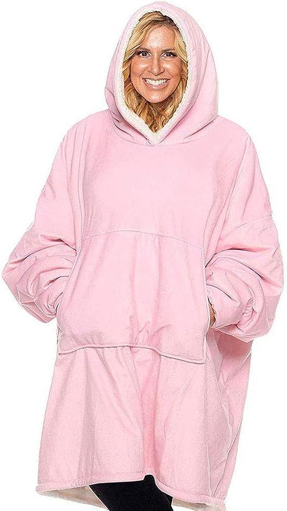 Sudadera con capucha de gran tamaño, con capucha, talla única, para hombres, mujeres, niños, niñas, pollana, jersey, spa, albornoz