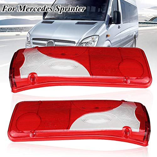 Car Rear Back Left LH/NS Right RH/OS Light Lens for Mercedes Sprinter Chassis for VW?for Crafter MAN?TGA?TGL?TGM TGS TGX