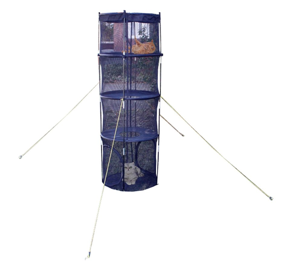 ABO Gear 3-Level Climbing Tent for Cats, 72 by 24-Inch