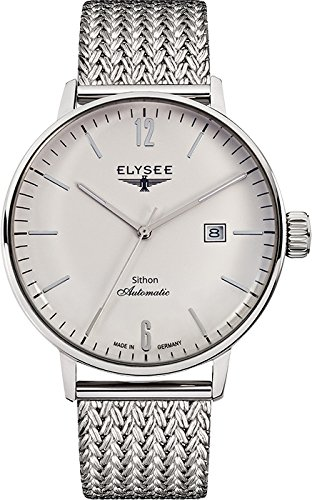 ELYSEE Men's 13280M Executive-Edition Analog Display Automatic Self Wind Silver Watch