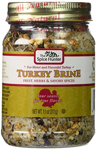 Spice Hunter Turkey Brine 11 oz (Pack Of 3) by Spice Hunter