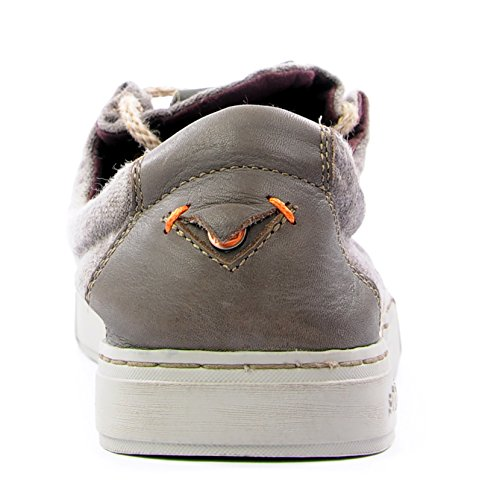Satorisan Brown Jeans Magome Sneakers Basse Linen Uomo rWFrTCZf