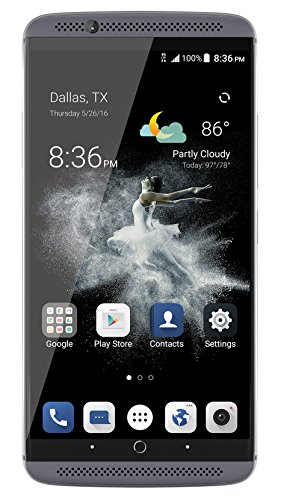 ZTE Axon 7 Unlocked smartphone,64GB ROM 4GB RAM, US Warranty (Grey)