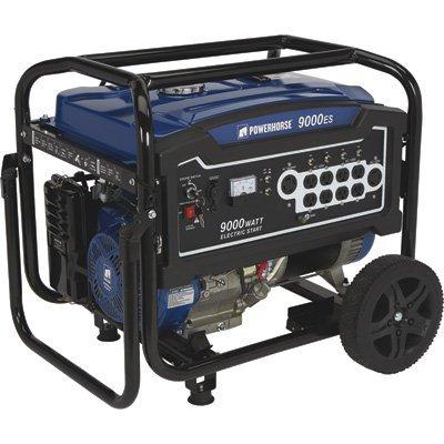 Powerhorse Portable Generator - 9000 Surge Watts, 7250 Rated Watts, Electric Start, EPA Compliant