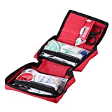 First Aid Kit with 139 Pieces Emergency