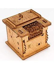 iDventure - Schroedingers Cat - Escape Room spel - Slimme houten puzzel - unieke puzzelspellen - Escape Box spelletjes volwassenen - puzzel doos voor kinderen (14+) - Puzzels teasers met een geheim