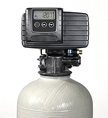 ABCwaters 48k-56sxt Iron Pro 48K Combination Water Softener & Iron Filter with Fleck 5600SXT Digital Metered Valve - Treat Whole House up to 48,000 Grains