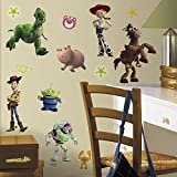 RoomMates RMK1428SCS Toy Story  Peel & Stick Wall Decals Glo-in Dark, 34 Count Picture