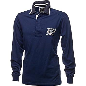 Classic-All Blacks Polo de Rugby All Blacks Classic Legends Azul ...