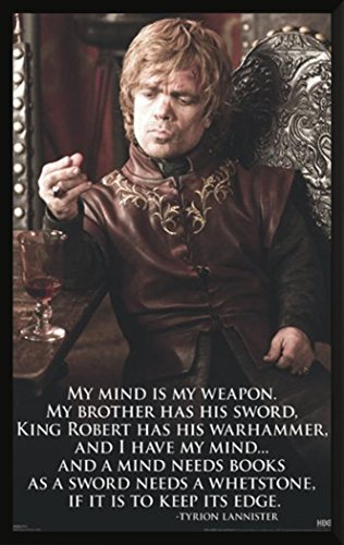 Game of Thrones Tyrione Lannister Quote Epic Fantasy Action