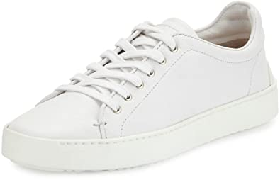 257f354a143 rag   bone Men s Kent White Leather Lace up Sneakers ...