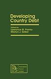 Developing Country Debt: Pergamon Policy Studies on Socio-Economic Development