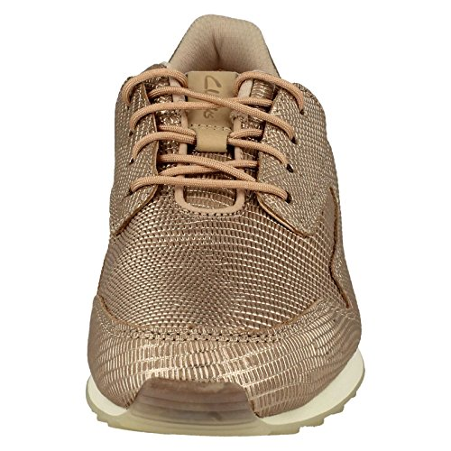 Clarks Damen Floura Mix Sneaker Rosa