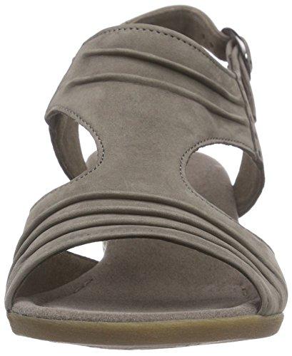Gabor Gabor Comfort - Sandalias de punta descubierta para mujer Beige (31 fumo)