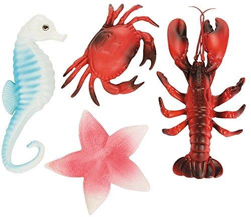 - Plastic Sea Life Decoration Assortment7 1/2