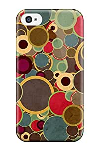 2015 1578603K63588013 Hot Tpu Cover Case For Iphone/ 4/4s Case Cover Skin - Retro