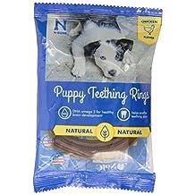 NATURAL POLYMER N-Bone Puppy Teething Single Ring Chicken Flavor