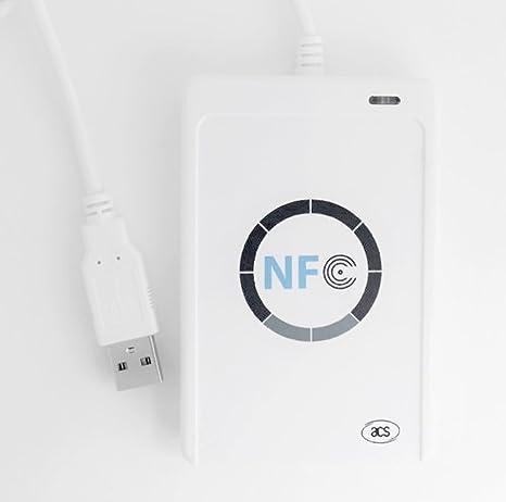 Lector de Tarjetas IC sin Contacto NFC ACR122U Lianshi ...
