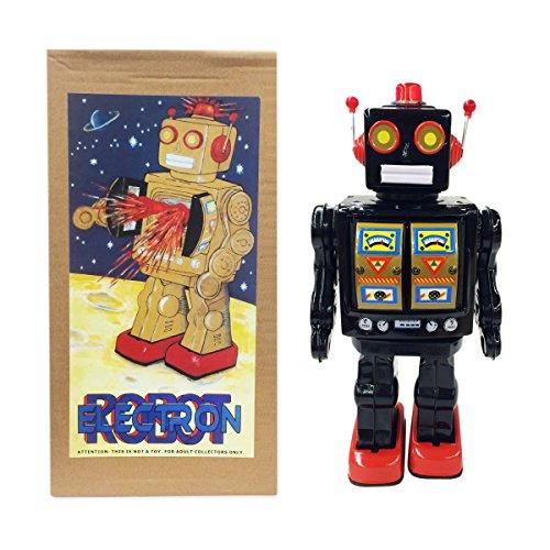 vintage tin robot - 8