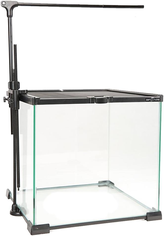 Reptile Lamp Stand Lamp Hanger Holder Adjustable Metal Lamp Support for Reptile Glass Terrarium Heating Light