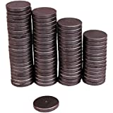 Creative Hobbies Ceramic Industrial Magnets - 1 Inch (25mm) Round Disc - Ferrite Magnets Bulk for Crafts, Science & Hobbies - 25 Piece Pack