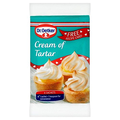 Dr Oetker Cream Of Tartar Sachets - 6 x 5g (0.07lbs)